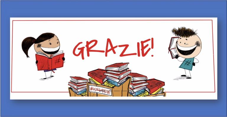 Donazione libri: IO LEGGO PERCHE'